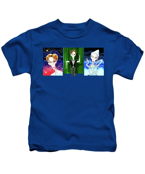 Changes Kids T-Shirt by Andrew Hitchen