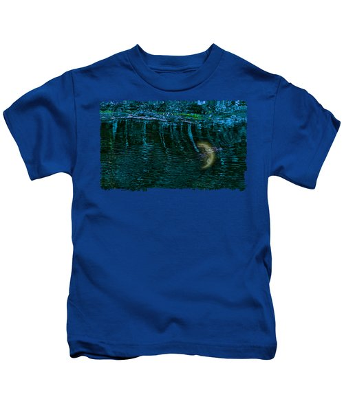 Dark Waters 2 Kids T-Shirt by John M Bailey