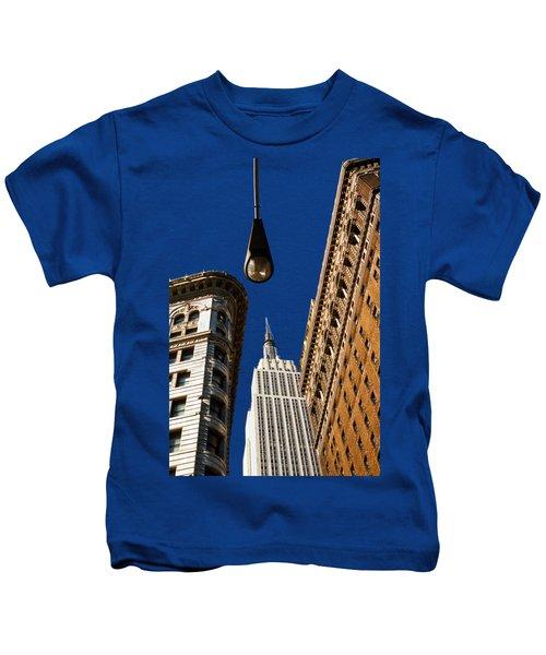 Flatiron District Kids T-Shirt by Paul Lamonica