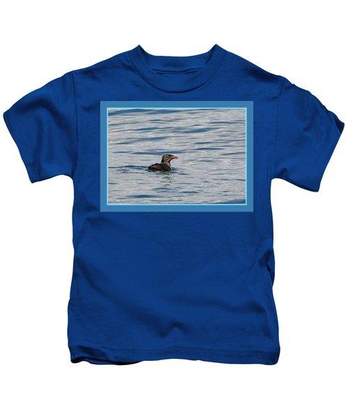 Floating Rhino Kids T-Shirt by BYETPhotography