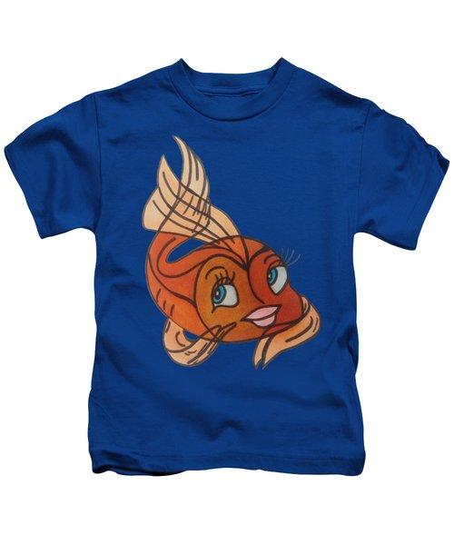 Goldie Kids T-Shirt by Darci Smith
