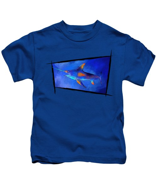 Kauderon V1 - Beautiful Swordfish Kids T-Shirt by Cersatti