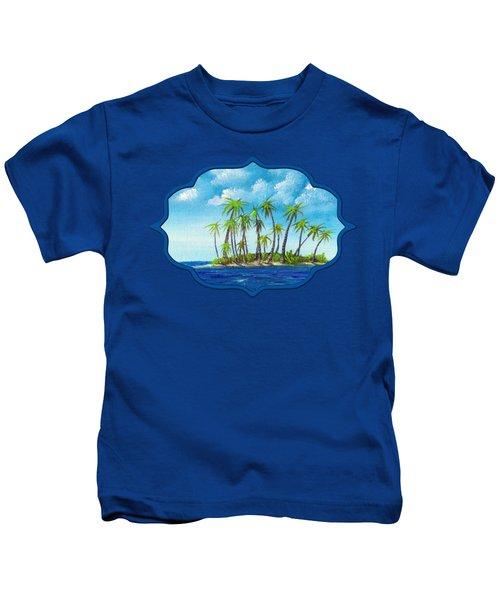 Little Island Kids T-Shirt by Anastasiya Malakhova