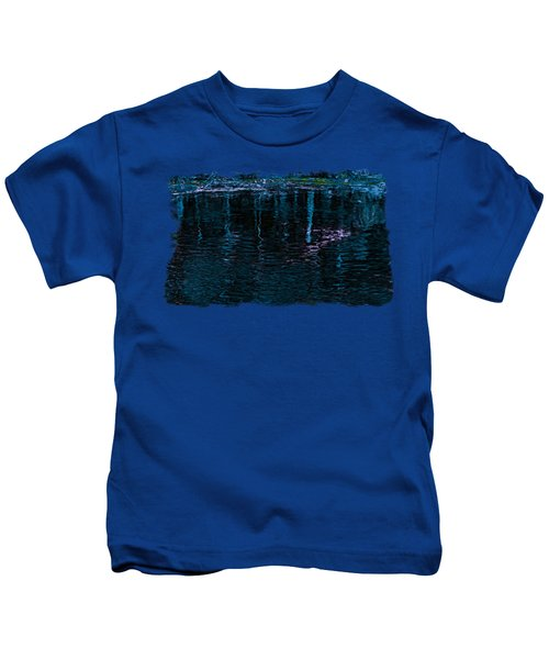 Midnight Spring Kids T-Shirt by John M Bailey