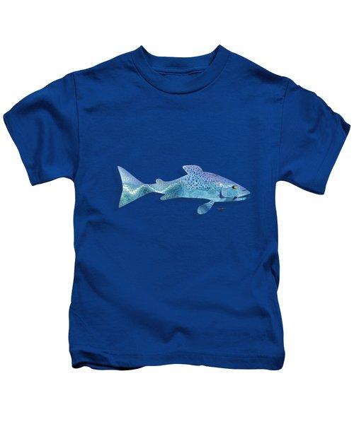 Rainbow Trout Kids T-Shirt by Mikael Jenei