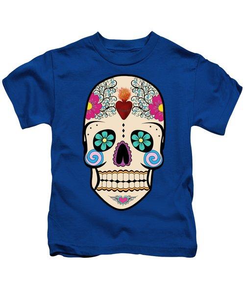 Skeleton Keyz Kids T-Shirt by LozMac