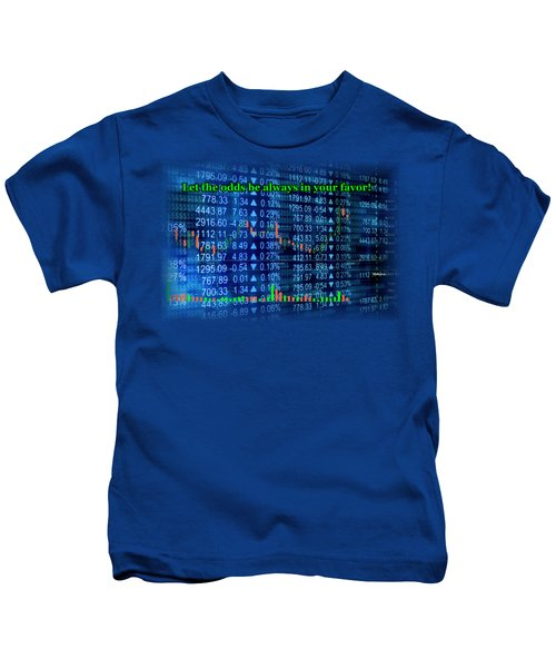 Stock Exchange Kids T-Shirt by Anastasiya Malakhova