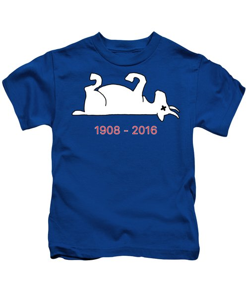 The Goat Is Dead Kids T-Shirt by Larry Scarborough