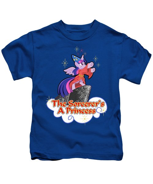 The Sorcerer's A Princess Kids T-Shirt by J L Meadows