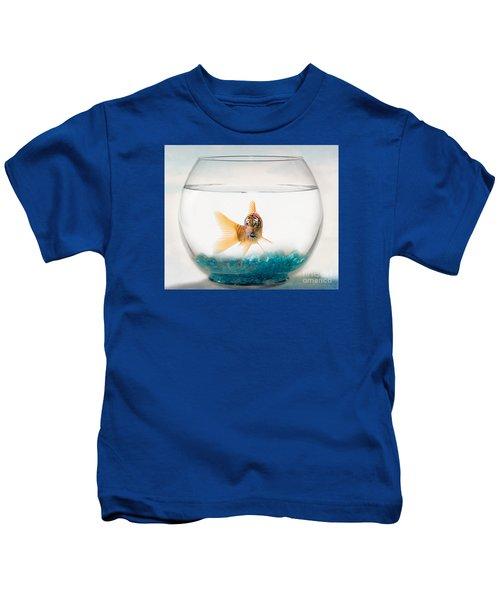 Tiger Fish Kids T-Shirt by Juli Scalzi