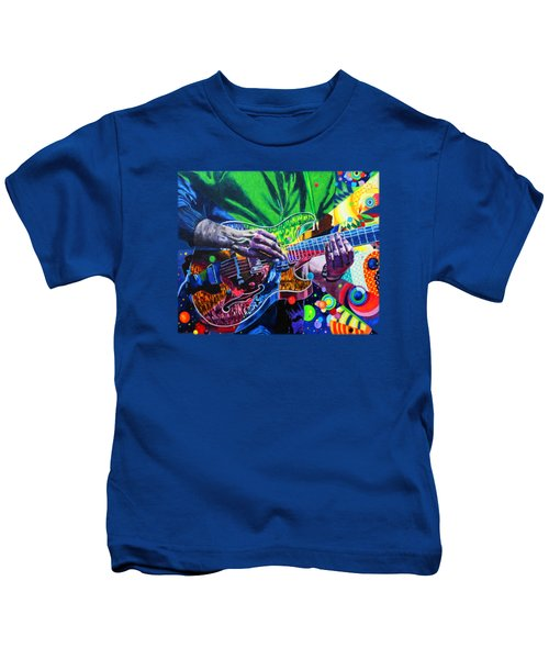 Trey Anastasio 4 Kids T-Shirt by Kevin J Cooper Artwork