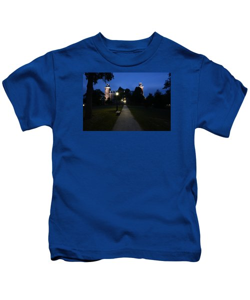 University Of Arkansas Kids T-Shirt by Chris  Look