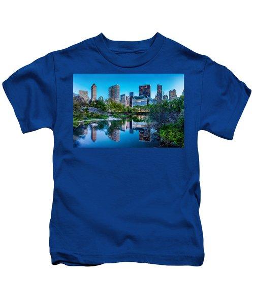 Urban Oasis Kids T-Shirt by Az Jackson