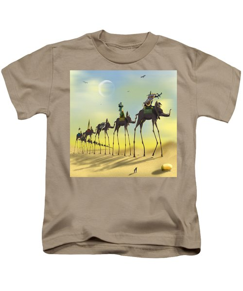 On The Move Kids T-Shirt by Mike McGlothlen