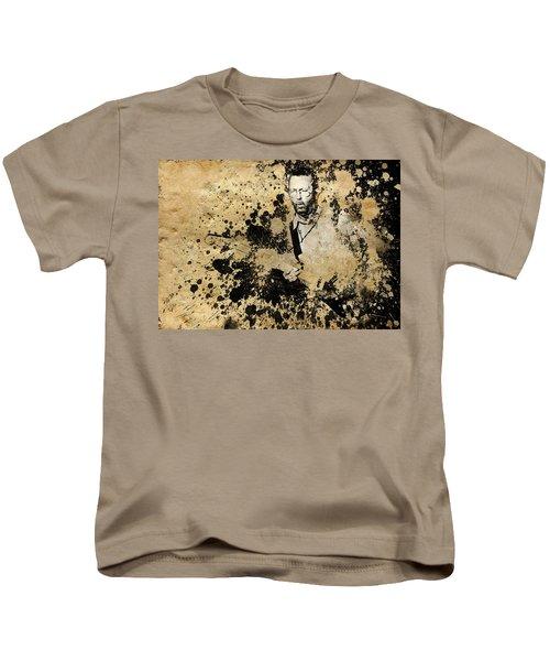 Eric Clapton 3 Kids T-Shirt by Bekim Art