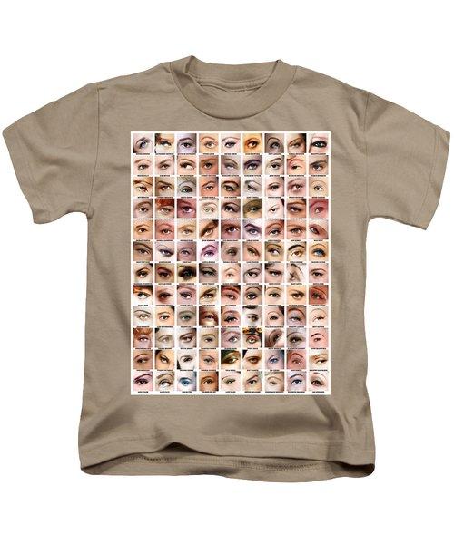 Eyes Of Hollywood - Old Era Kids T-Shirt by Taylan Soyturk
