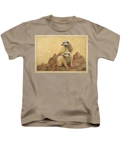 Lookouts Kids T-Shirt by James W Johnson