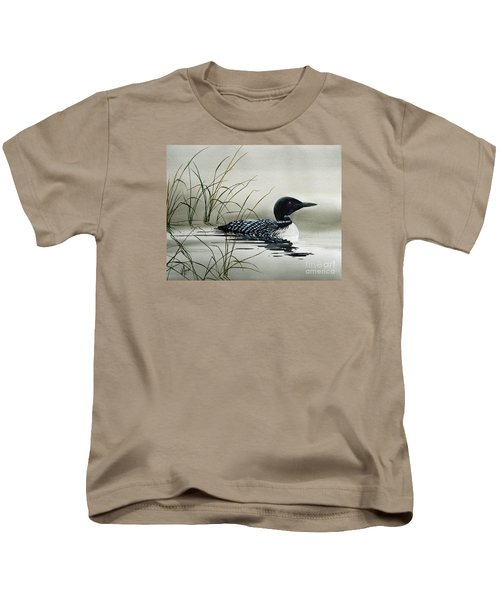Nature's Serenity Kids T-Shirt by James Williamson