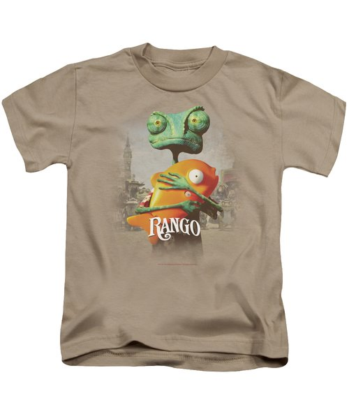Rango - Poster Art Kids T-Shirt by Brand A