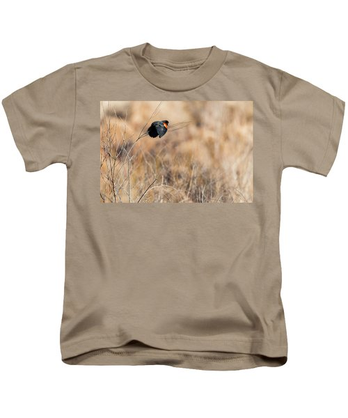 Springtime Song Kids T-Shirt by Bill Wakeley