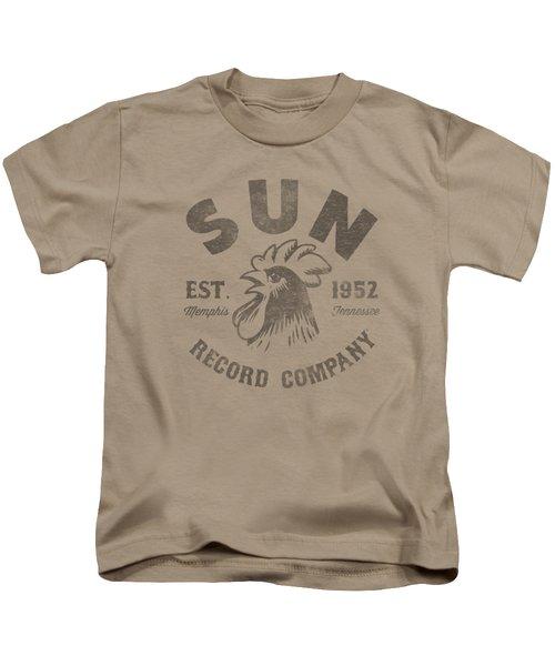 Sun - Vintage Logo Kids T-Shirt by Brand A