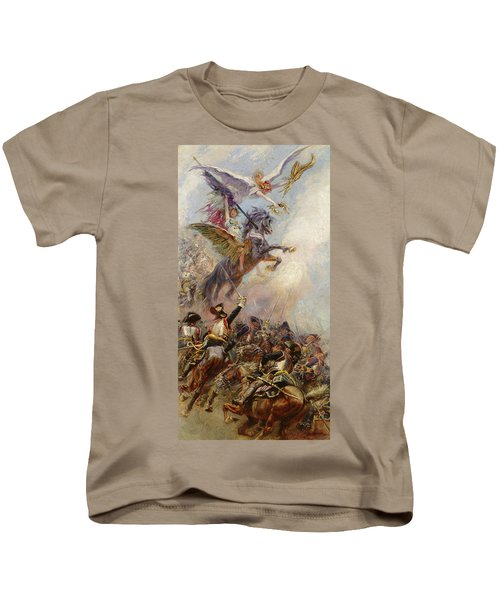 Victory Kids T-Shirt by Jean-Baptiste Edouard Detaille