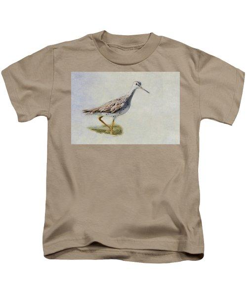 Yellowlegs Kids T-Shirt by Bill Wakeley