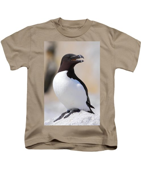 Razorbill Kids T-Shirt by Bruce J Robinson