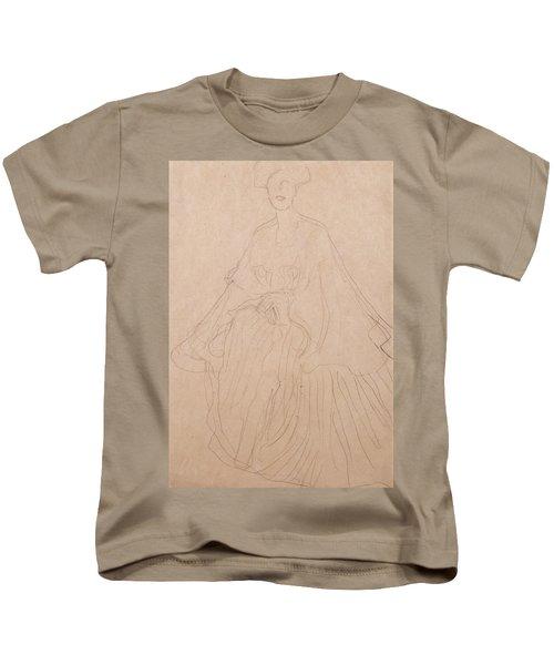 Adele Bloch Bauer Kids T-Shirt by Gustav Klimt