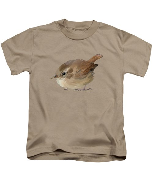 Wren Kids T-Shirt by Bamalam  Photography
