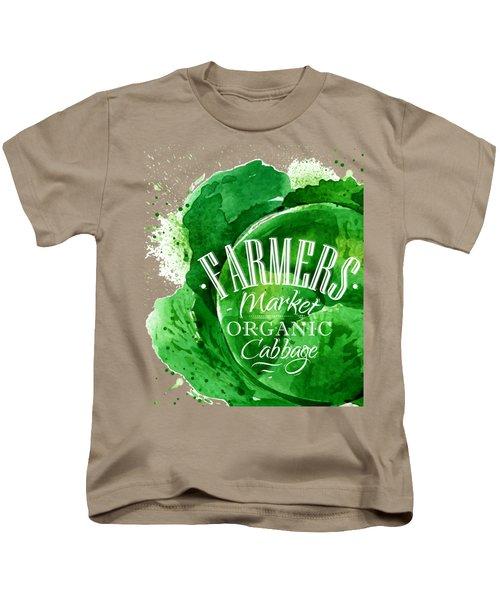 Cabbage Kids T-Shirt by Aloke Design