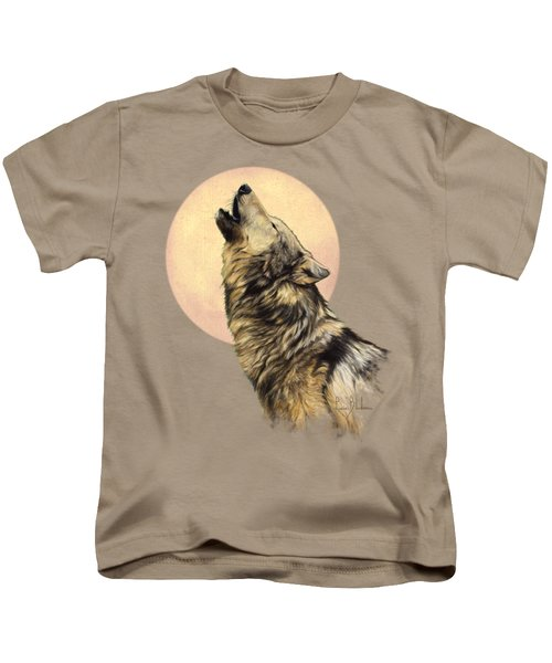 Call Of The Wild Kids T-Shirt by Lucie Bilodeau