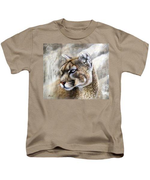 Catamount Kids T-Shirt by Sandi Baker