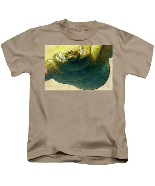 Coiled Kids T-Shirt by Jack Zulli