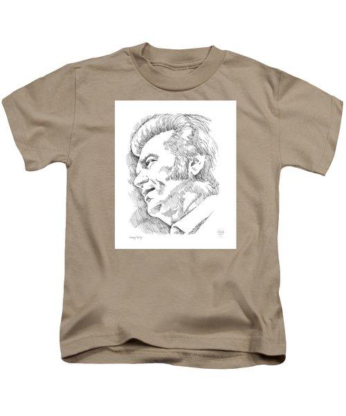 Conway Twitty Kids T-Shirt by Greg Joens