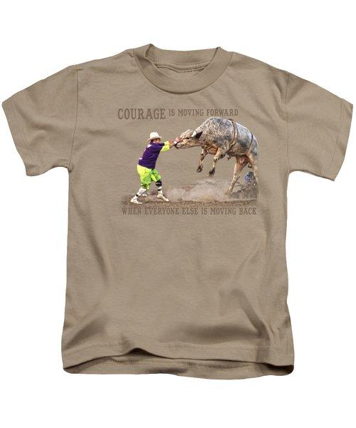Courage Kids T-Shirt by Sanford Tullis
