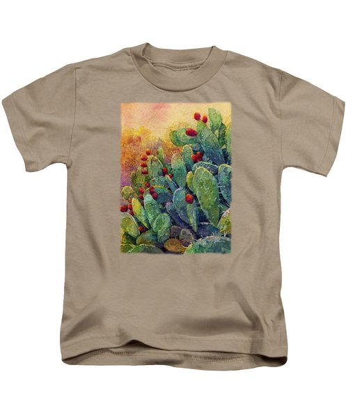 Desert Gems 2 Kids T-Shirt by Hailey E Herrera