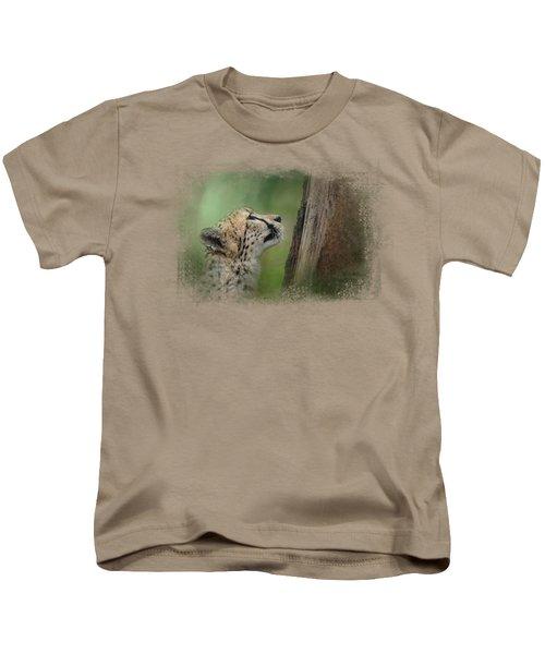 Facing Challenges Kids T-Shirt by Jai Johnson
