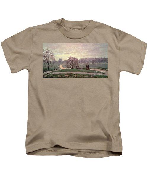 Hyde Park Kids T-Shirt by Claude Monet