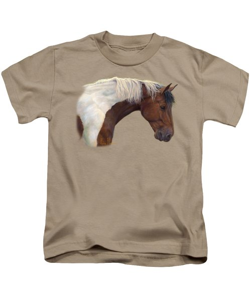 Intrigued Kids T-Shirt by Lucie Bilodeau
