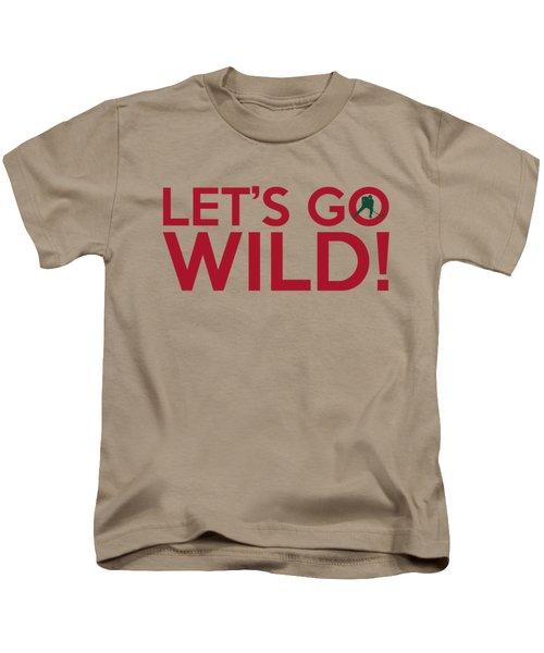 Let's Go Wild Kids T-Shirt by Florian Rodarte