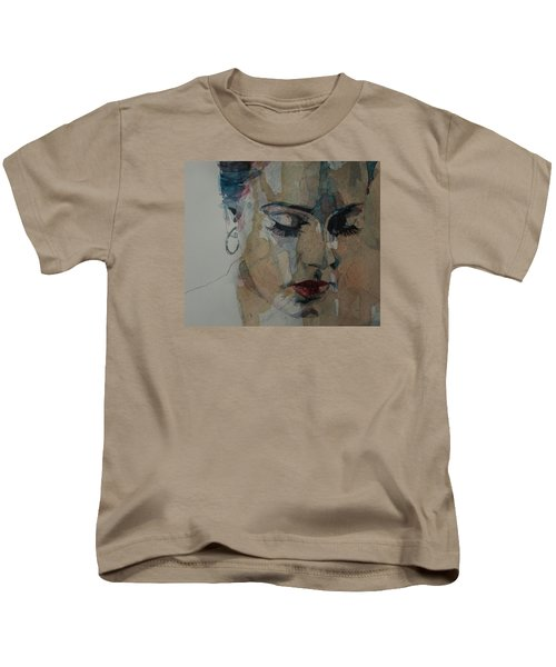 Make You Feel My Love Kids T-Shirt by Paul Lovering