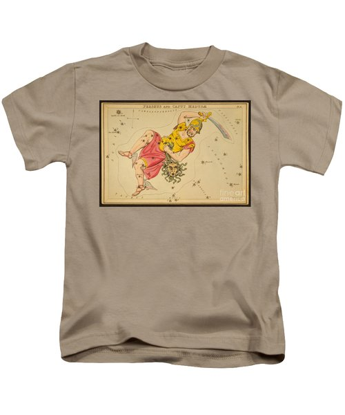 Perseus And Caput Medusae Kids T-Shirt by Science Source