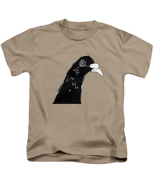 Pigeon Kids T-Shirt by Matt Mawson