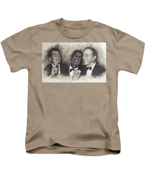 Rat Pack Kids T-Shirt by Cynthia Campbell