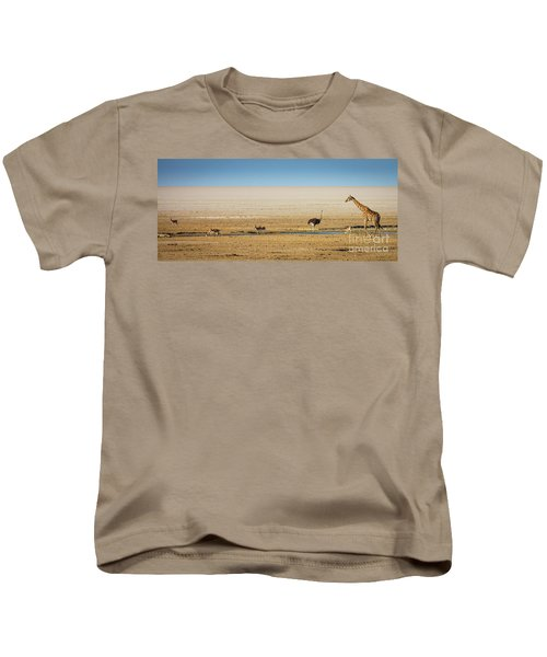Savanna Life Kids T-Shirt by Inge Johnsson