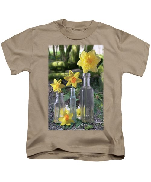 Still Life In The Woods Kids T-Shirt by Jon Delorme