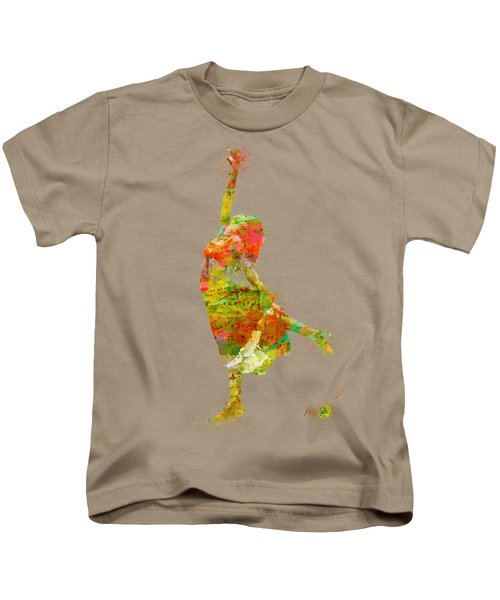 The Music Rushing Through Me Kids T-Shirt by Nikki Smith