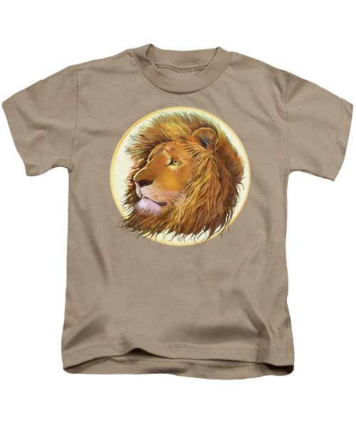 The One True King - Color Kids T-Shirt by J L Meadows