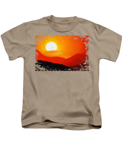 The Painted Desert Signature Series Kids T-Shirt by Di Designs